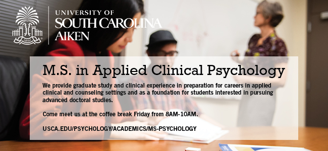 University of South Carolina Aiken - M.S. in Applied Clinical Psychology