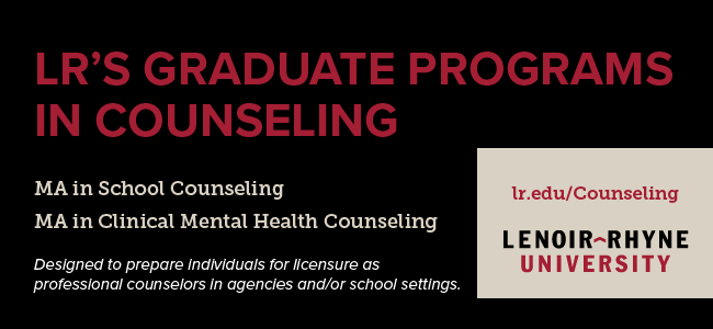 Lenoir-Rhyne University Graduate Programs in Counseling